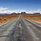 Road trip through Monument Valley by Martin Lawrence