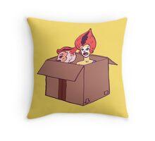 Wilykit & Wilykat Throw Pillow