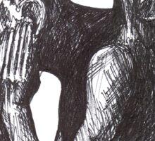Gargoyle of Notre Dame 1 Sticker
