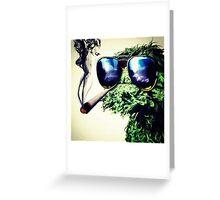 ~ Oscar the Grouch ~  Greeting Card