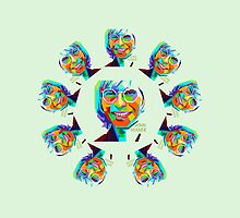 John Denver ~ Pop Art #2 by vdezine