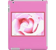 Suggestion of a Rose - Pink iPad Case/Skin