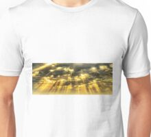 sunrays skyscape Unisex T-Shirt