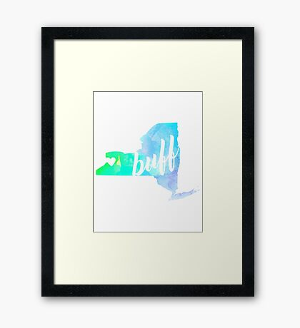 Buff Framed Print