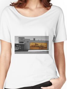 The mural Women's Relaxed Fit T-Shirt