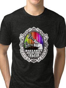 BRDL Rainbow Logo - Clothing, Pillows & Phone Wallet Tri-blend T-Shirt