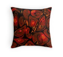 Seamless abstract pattern. Throw Pillow