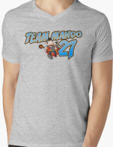 Team Mando! Mens V-Neck T-Shirt