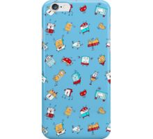 Happy Little Robots iPhone Case/Skin