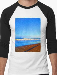 Beautiful Blue Sea Men's Baseball ¾ T-Shirt