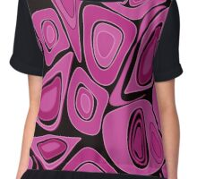 Seamless abstract pattern. Chiffon Top
