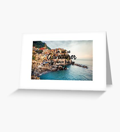 Fated Adventurer Greeting Card