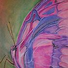 Pink and Purple Butterfly by justineb