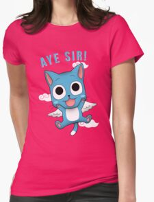 Aye Sir! Womens Fitted T-Shirt