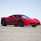Ferrari 458 Italia by Waqar