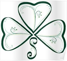 Celtic Whirls Poster