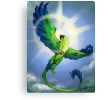 Emerald Gryffin of the Rain forest  Canvas Print