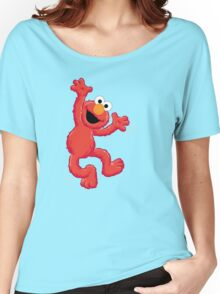 Elmo Happy Women's Relaxed Fit T-Shirt