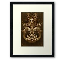Utilll the end Framed Print
