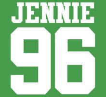 BLACKPINK Jennie 96 (White) One Piece - Short Sleeve
