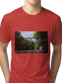 Pontcysyllte Aqueduct Tri-blend T-Shirt