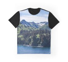 Three Sisters Mountains  Graphic T-Shirt