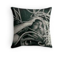 Life is full of tangles Throw Pillow