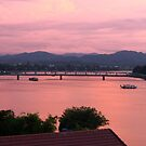 Perfume River Hue At Dusk by Andrew  Makowiecki