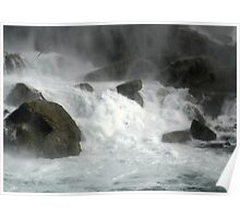 Base of the American Falls Niagara Poster