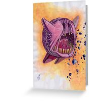 Void Kirby Nintendo Greeting Card