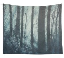 Glass Light Forest Wall Tapestry