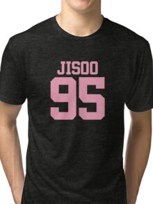 BLACKPINK Jisoo 95 (Pink) Tri-blend T-Shirt