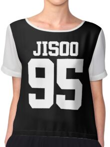 BLACKPINK Jisoo 95 (White) Chiffon Top
