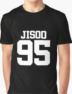 BLACKPINK Jisoo 95 (White) Graphic T-Shirt