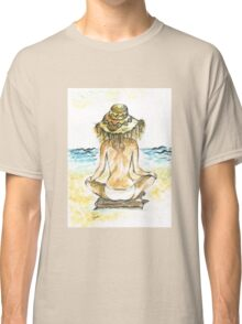Beach Yoga Classic T-Shirt