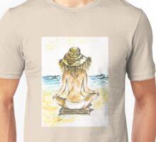 Beach Yoga Unisex T-Shirt
