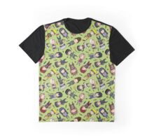 Naruto Pattern Jutsu Graphic T-Shirt