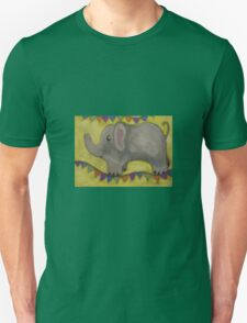 One Grey Elephant Balancing T-Shirt