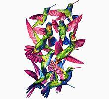 Hummingbird Dance in Sharpie Womens Fitted T-Shirt
