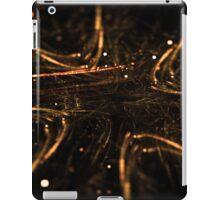 abstract glowing arrows shape pointing inside iPad Case/Skin