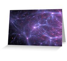 universe galaxy Greeting Card