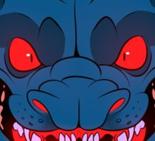 Blue Fu Dog Sticker