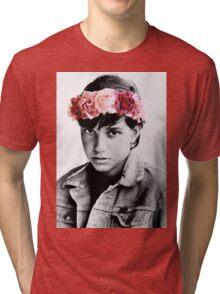 Johnny Cade Flower Crown Tri-blend T-Shirt