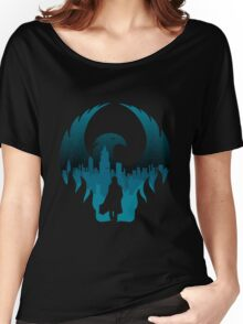 Fantastic Beasts Newt Silhouette Women's Relaxed Fit T-Shirt