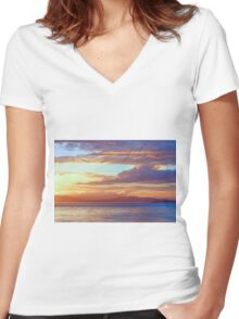 He is Women's Fitted V-Neck T-Shirt