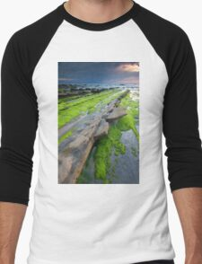 Beach of Barrika Men's Baseball ¾ T-Shirt