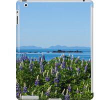 Scenic Lupine Landscape iPad Case/Skin