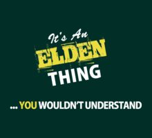It's An ELDRIDGE thing, you wouldn't understand !! by satro