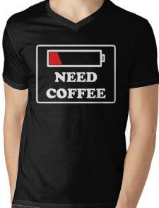 Need coffee low energy Mens V-Neck T-Shirt