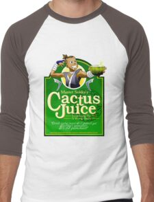 Master Sokka's Cactus Juice Men's Baseball ¾ T-Shirt